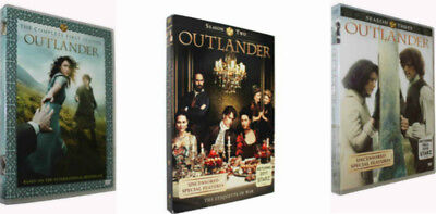 OUTLANDER Complete Season 1 One & Season 2 Two & Season 3 Three (DVD) Combo Sets
