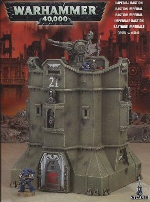 IMPERIAL BASTION astra militarum Games Workshop Warhammer 40k army Cadian GW