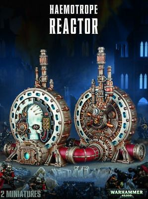 haemotrope Reactor Games Workshop Warhammer 40.000 40k terrain Shield GW Terrain