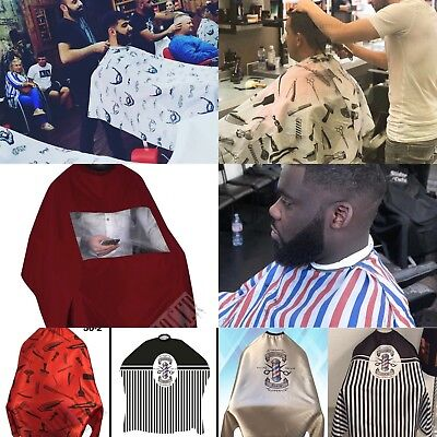 Dincer Barber Cape Gown Hair cutting Premium Gowns Capes Salons & Barber Shops