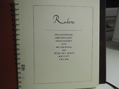 Rubens - Philatelistische Dokumentation - Band III - A8
