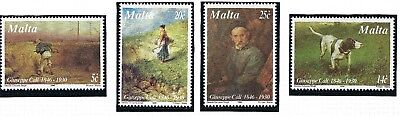 Malta 1996 Guiseppe Call Painter  SG 1026 - 9 Complete set MNH STAMPS SEE SCAN.