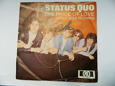"7"" Single - Status Quo – The Price Of Love / Little Miss Nothing"