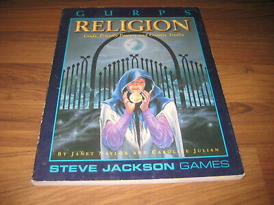 GURPS 3rd Edition Religion Softcover 1994 Steve Jackson Games