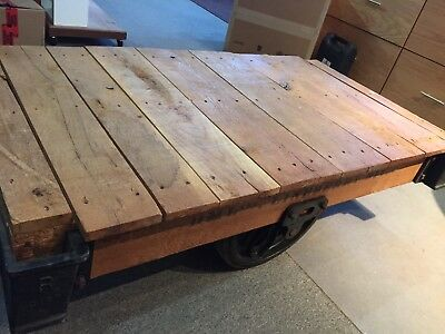Lineberry Factory Cart Unrestored - Rubber Wheels!