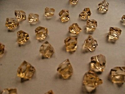 Acrylic Ice Rocks Crystal Table Scatter WeddingTable Decorations120pcschamp gold