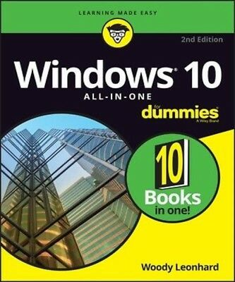 Windows 10 All-In-One for Dummies, 2nd Edition PDF Read on PC/SmartPhone/Tablet