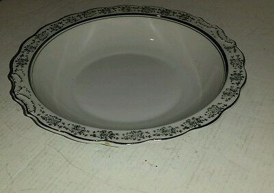 Lefton 25Th Anniversary Hand Painted In Japan Round Bowl Nice!