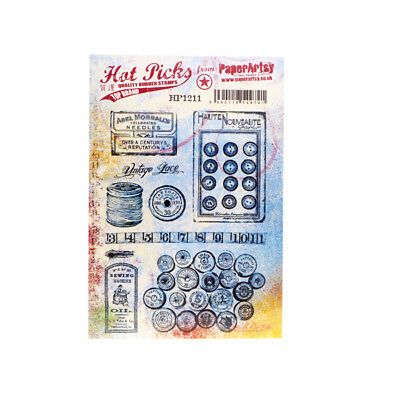 Paperartsy Hot Picks Hp1211 A5 Rubber Stamp Unmounted