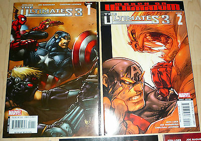 AVENGERS THEMED THE ULTIMATES 3 COMPLETE SERIES LEOB & MADUREIRA Inc #5 VARIANT