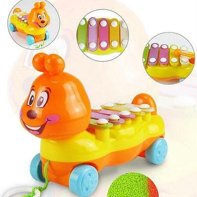 Baby Kids Simulator Musical Car Toys Kids Educational Learning Toy Gift OT8G