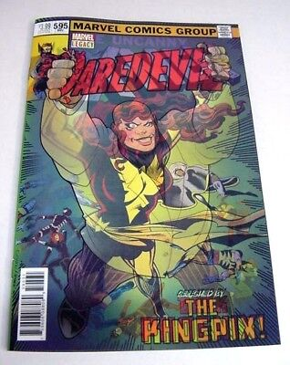 Daredevil #595 Homage To X-Men #135 Legacy 3D Lenticular Variant $3 Flat Ship!