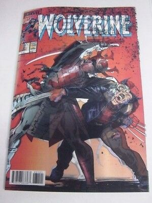 Old Man Logan #31 Homage To Wolverine #2 Marvel Legacy 3D Lenticular Variant Nm!