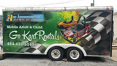 Child Go Karts, Track, & Trailer ! MOBILE or PERMANENT Easy to Maintain!