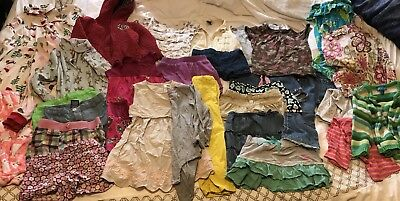 Toddler Girls Clothing Size 18-24 Months - 4t Lot of 31 Items