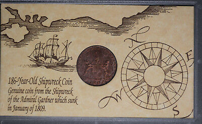 1808 East India Shipwreck Coin Of The Admiral Gardner