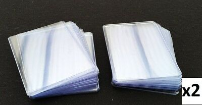 50 x Toploaders by Card Concept - Hard Plastic Top Loaders - MTG - Toploader
