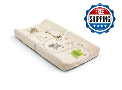 Baby Changing Cover Table Pad Ultra Plush Contoured Diaper Cushion Nursery