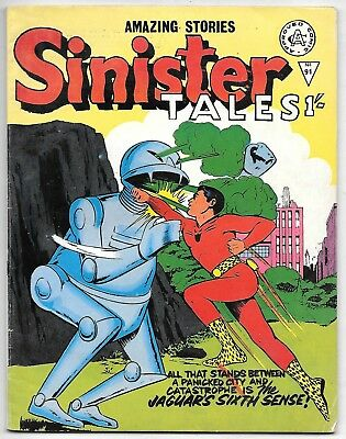 Sinister Tales #91 (Alan Class 1/-) very high grade, Archie & Charlton strips