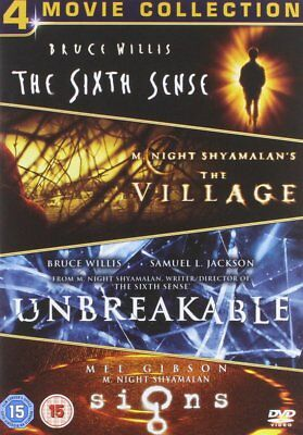 M. Night Shyamalan Box Set (Sixth Sense, The Village, Unbreakable, Signs) [DVD]