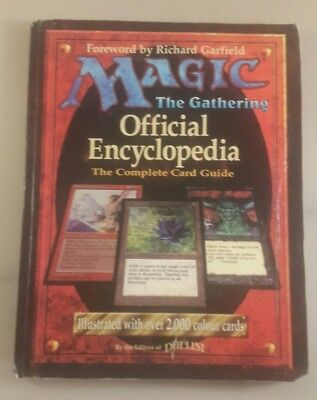 magic the gathering official encyclopedia the complete card guide