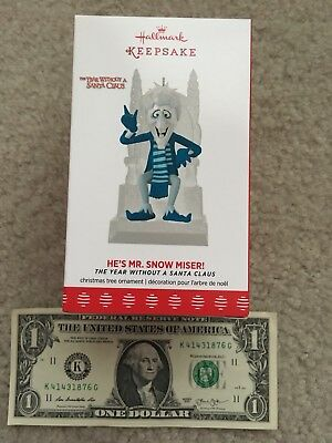 Hallmark 2017 The Year Without A Santa, He's Mister Snow Miser, New