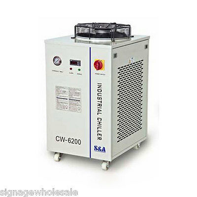 220V CW-6100AN Industrial Water Chiller for Laser Tube / Diode/Solid-state Laser