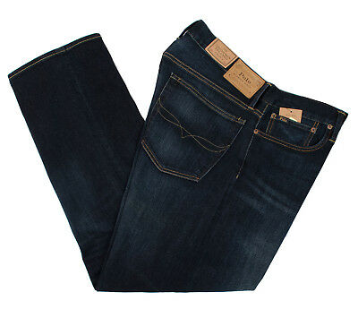 Polo Ralph Lauren Thompson Relaxed Stretch Men's Blue Jeans Pants Multisize