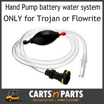 HAND PUMP for Battery Watering System TROJAN or FLOWRITE connection