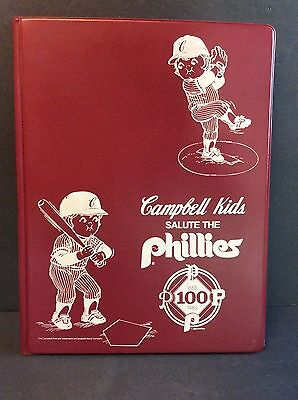 Campbell's Soup Company CAMPBELL KIDS SALUTE THE PHILADELPHIA PHILLIES 1983