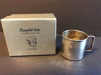 Campbell's Soup Company CAMPBELL KIDS Silverplated Mug in Box
