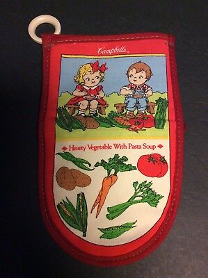 Campbell's Soup Company Hearty Vegeatable with Pasta CAMPBELL KIDS OVEN MITT