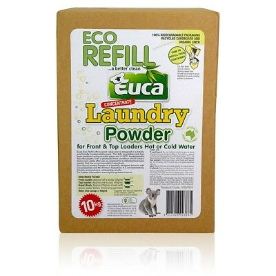 Eucalyptus Laundry Washing Powder detergent concentrate Refill box 10kg