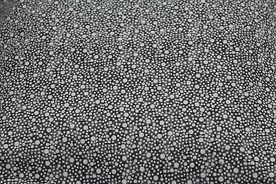100 % Cotton fabric ~ Marble gray with white dots ~ BTY