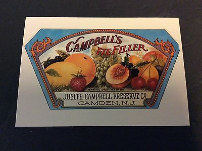 CAMPBELL'S PIE FILLER Ad Postcard 1996  Campbell's Soup Company