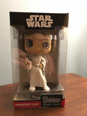 Funko Wacky Wobbler Star Wars Princess Leia 5inch Stylized Vinyl Figure NIB