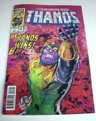 Thanos #13 Homage To Secret Wars Variant 3D Lenticular Marvel Legacy $3 Shipping