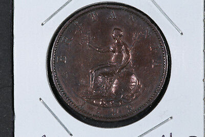1799 Halfpenny Great Britain - Spink# 3778