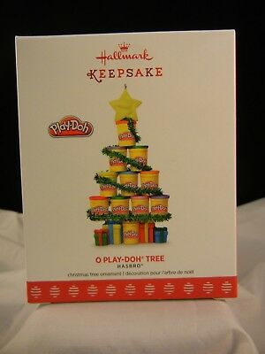 Hallmark Keepsake Ornament 2017 O Play-Doh Tree - Hasbro NIB
