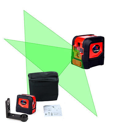 NEWLETER Self-Leveling Green Laser Level Cross Line With L-shaped Magnetic Stand