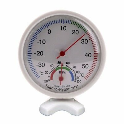 Temperature Meter Analog Humidity Gauge Hygrometer Indoor Thermometer -35~55C cn