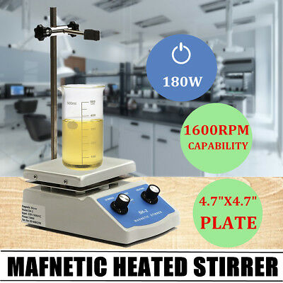 SH-2 220V Lab Magnetic Stirrer Mixer Heating Hot Plate Control Stirring Machine