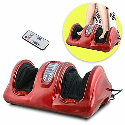 Foot Massage Machine Shiatsu Kneading Rolling Electric Massager + Remote Control