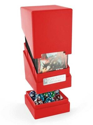Ultimate Guard - MONOLITH DECK CASE 100+ Red - Gaming Box - Deckbox
