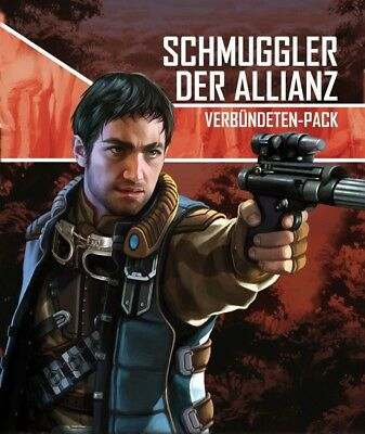 Star Wars Imperial Assault - Smuggler the Alliance Extension (German) Rebel