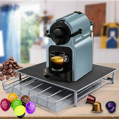 Coffee Machine Stand U0026 Capsule Pod Storage Holder Drawer Nespresso Dolce  Gusto