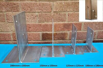 Galvanized Steel T Blade Bolt Down Post Support, Timber Connector/Concealed Base