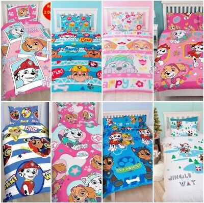 Paw Patrol Rescue Kids Forever Pals Pawsome Spy Single Double Bedding Set Duvet