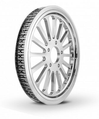 Dna Speciality Super Spoke 66 Tooth 1 Inch Pulley In Chrome (M-Pl-0166)