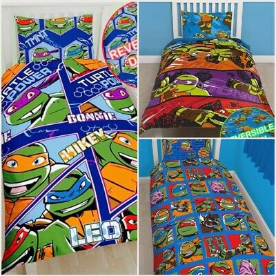 Reduced *Sale* Teenage Mutant Ninja Turtles TMNT SINGLE Bedding Set Duvet Cover